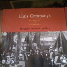 Libros de segunda mano: LLUIS COMPANYS. Lote 133740862