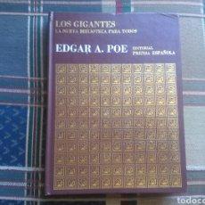 Libros de segunda mano: LIBRO EDGAR ALLAN POE LA NUEVA BIBLIOTECA PARA TODOS EDITORIAL PRENSA ESPAÑOLA. Lote 133893842