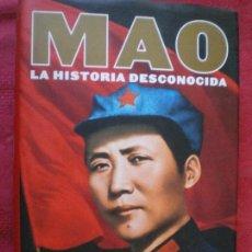Libros de segunda mano: MAO, LA HISTORIA DESCONOCIDA. JUNG CHANG JON HALLIDAY. TAURUS. NUEVO. Lote 134023806