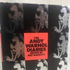 Libros de segunda mano: ANDY WARHOL DIARIES EDITED BY PAT HACKETT NEW YORK 1989 BUEN ESTADO TEXTO INGLÉS. Lote 134750762