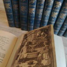 Libros de segunda mano: HISTOIRES D'AMOUR DE L'HISTOIRE DE FRANCE (12 TOMOS, 1965), HISTORIAS DE AMOR DE LA HISTORIA FRANCIA. Lote 134930783
