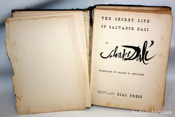 Libros de segunda mano: LIBRO THE SECRET LIFE OF SALVADOR DALI 1942 LA VIDA SECRETA DE SALVADOR DALI - Foto 4 - 135691879