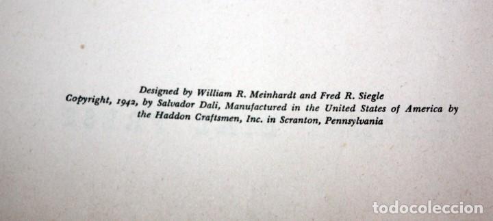 Libros de segunda mano: LIBRO THE SECRET LIFE OF SALVADOR DALI 1942 LA VIDA SECRETA DE SALVADOR DALI - Foto 5 - 135691879