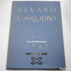 Libros de segunda mano: ÁLVARO CUNQUEIRO UNHA AUTOBIOGRAFÍA 1911-1981 Y90490. Lote 135919750