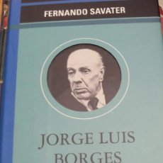 Libros de segunda mano: JORGE LUIS BORGES FERNANDO SAVATER EDIT OMEGA AÑO 2001. Lote 136104158