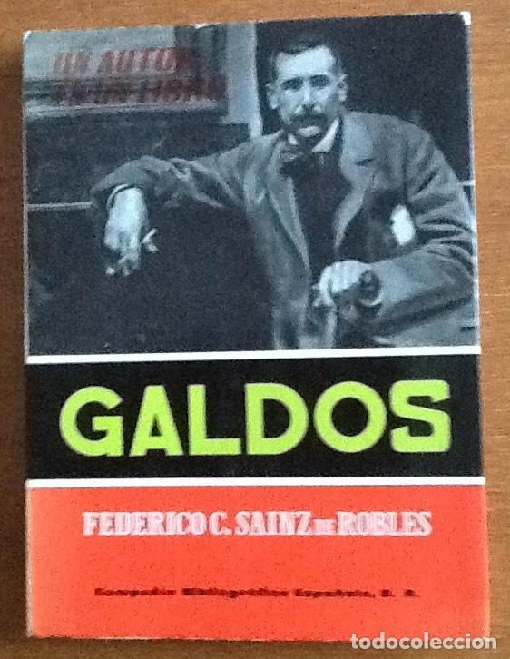 GALDOS. FEDERICO C. SAINZ DE ROBLES (Libros de Segunda Mano - Biografías)