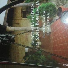 Livros em segunda mão: BIOGRAFÍA MÉDICA DE SANTA BONIFACIA. Lote 136462966