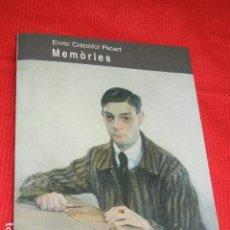 Libros de segunda mano: MEMORIES, DE ENRIC CRISTOFOL RICART - ED.PARSIFAL 1A.ED.1995. Lote 138568486