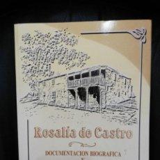 Libros de segunda mano: ROSALÍA DE CASTRO DOCUMENTACIÓN BIOGRÁFICA Y BIBLIOGRAFÍA CRÍTICA VOLUMEN III. Lote 138760142
