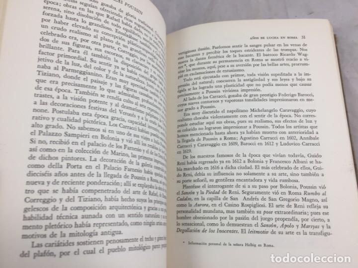 Libros de segunda mano: OTTO GRAUTOFF NICOLAS POUSSIN SU VIDA Y SU OBRA EDITORIAL POSEIDON BUENOS AIRES 1945 - Foto 6 - 139022886
