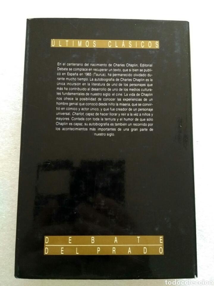 Libros de segunda mano: Charles Chaplin, mi autobiografía. Ultimos Clásicos - Foto 2 - 139171098