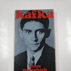 Libros de segunda mano: KAFKA. KLAUS WAGENBACH. ALIANZA EDITORIAL. Nº 241. TDK230. Lote 139502990