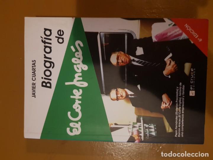 Javier cuartas, biografía de el corte inglés, 6 - Vendido en Venta ...