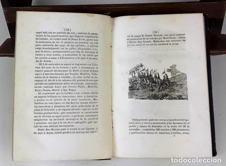 Libros de segunda mano: VIDA MILITAR Y POLÍTICA DE DIEGO LEON. C. MASSA. EST. JUAN MANINI. MADRID. 1843. - Foto 5 - 139548642