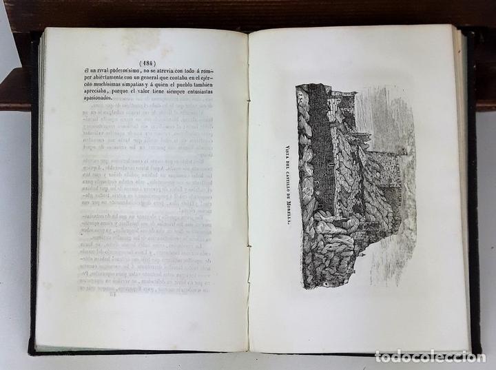 Libros de segunda mano: VIDA MILITAR Y POLÍTICA DE DIEGO LEON. C. MASSA. EST. JUAN MANINI. MADRID. 1843. - Foto 6 - 139548642