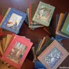 Libros de segunda mano: GRAN LOTE 44 LIBROS COLECCIÓN LOS GRANDES HOMBRES Y PÁGINAS BRILLANTES. ARALUCE. Lote 140686050