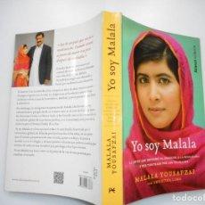 Libros de segunda mano: MALALA YOUSAFZAI YO SOY MALALA Y91068. Lote 140716942