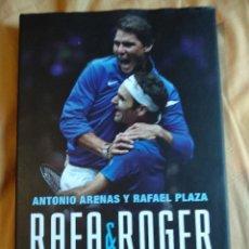 Libros de segunda mano: RAFA NADAL ROGER FEDERER ANTONIO ARENAS RAFAEL PLAZA NUEVO LIBROS DE LA CUPULA LA HISTORIA DEL TENIS. Lote 141241742