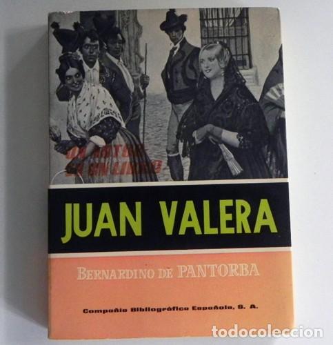 JUAN VALERA - LIBRO BERNARDINO CIA. BIBLIOGRÁFICA ESPAÑOLA - ESCRITOR ANTOLOGÍA BIOGRAFÍA LITERATURA (Libros de Segunda Mano - Biografías)