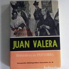 Libros de segunda mano: JUAN VALERA - LIBRO BERNARDINO CIA. BIBLIOGRÁFICA ESPAÑOLA - ESCRITOR ANTOLOGÍA BIOGRAFÍA LITERATURA. Lote 142225406