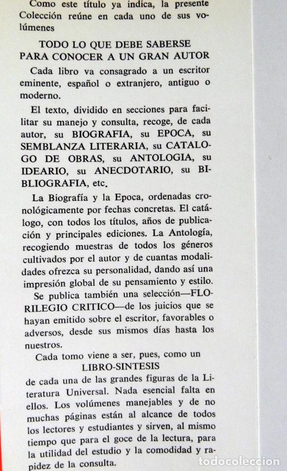Libros de segunda mano: JUAN VALERA - LIBRO BERNARDINO CIA. BIBLIOGRÁFICA ESPAÑOLA - ESCRITOR ANTOLOGÍA BIOGRAFÍA LITERATURA - Foto 3 - 142225406