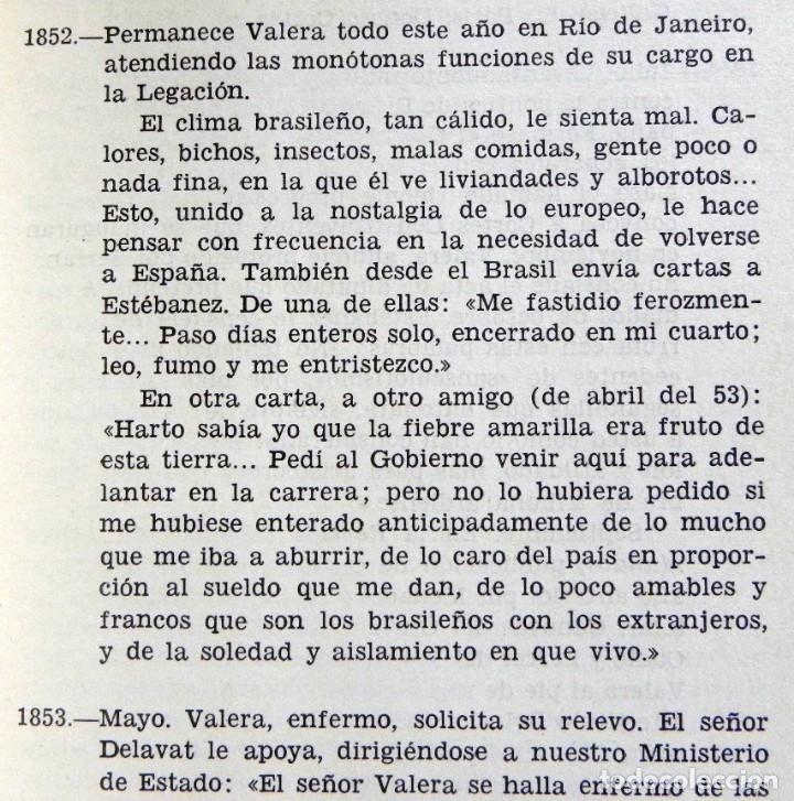 Libros de segunda mano: JUAN VALERA - LIBRO BERNARDINO CIA. BIBLIOGRÁFICA ESPAÑOLA - ESCRITOR ANTOLOGÍA BIOGRAFÍA LITERATURA - Foto 5 - 142225406