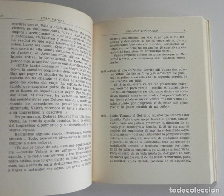 Libros de segunda mano: JUAN VALERA - LIBRO BERNARDINO CIA. BIBLIOGRÁFICA ESPAÑOLA - ESCRITOR ANTOLOGÍA BIOGRAFÍA LITERATURA - Foto 4 - 142225406