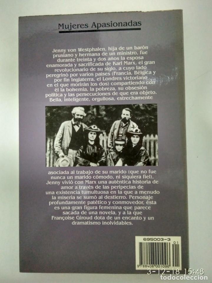 Libros de segunda mano: Jenny Marx.-Francoise Giroud.- Ed. Planeta. - Foto 2 - 142423350