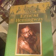 Libros de segunda mano: ERNEST HEMINGWAY PERSONAJES DEL SIGLO XX. Lote 142905365