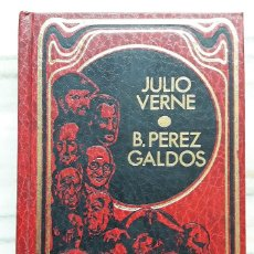 Libros de segunda mano: BIOGRAFÍAS JULIO VERNE Y BENITO PEREZ GALDÓS. Lote 217498625