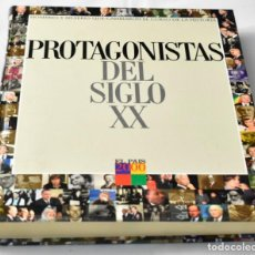 Libros de segunda mano: PROTAGONISTAS DEL SIGLO XX. Lote 142979954