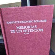 Libros de segunda mano - Ramón de Mesonero Romanos, Memorias e un setentón - 135475954
