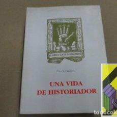 Libros de segunda mano: GRANJEL, LUIS S.: UNA VIDA DE HISTORIADOR. Lote 143590942
