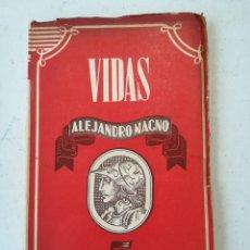 Libros de segunda mano: ALEJANDRO MAGNO SANTIAGO MONTERO 1944. Lote 143892336
