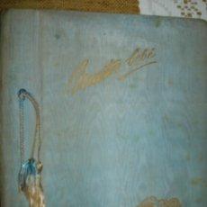 Libros de segunda mano: NUESTRO BEBE. LIBRO DIARIO DE APUNTES DATA DE 1962. Lote 144152174