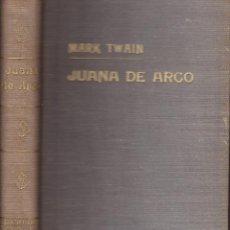 Libros de segunda mano - mark twain -- juana de arco - 144382590