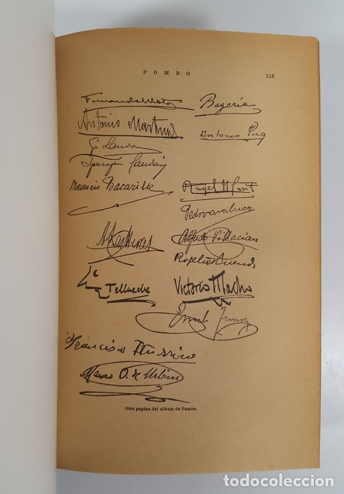 Libros de segunda mano: POMBO. BIOGRAFÍA DEL CELEBRE CAFÉ Y DE OTROS CAFÉS FAMOSOS. R.G. EDIT JUVENTUD ARGENTINA. 1941. - Foto 4 - 145054730