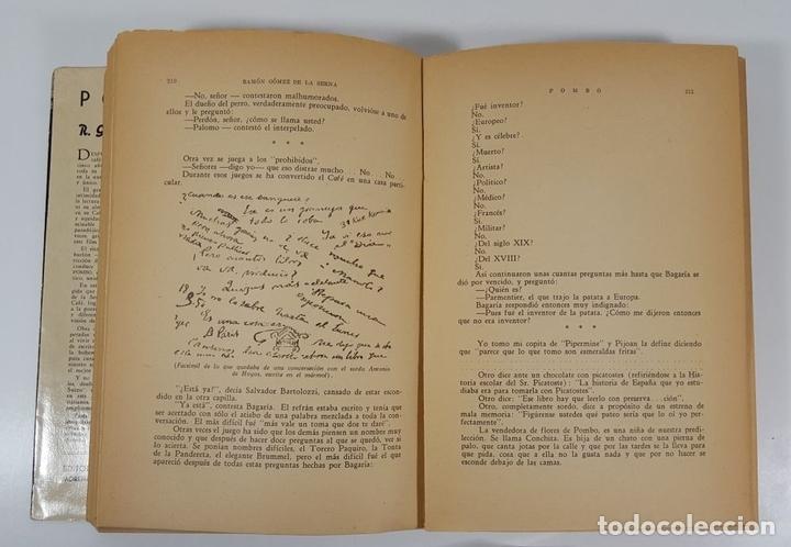 Libros de segunda mano: POMBO. BIOGRAFÍA DEL CELEBRE CAFÉ Y DE OTROS CAFÉS FAMOSOS. R.G. EDIT JUVENTUD ARGENTINA. 1941. - Foto 6 - 145054730