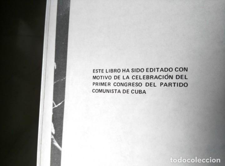 Libros de segunda mano: LA HISTORIA ME ABSOLVERÁ FIDEL CASTRO COMPLETO CON CAJA 1975. - Foto 5 - 145105650