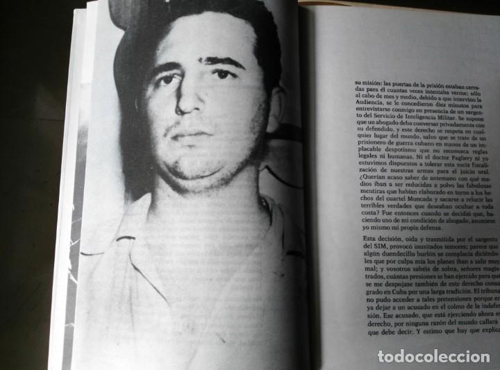 Libros de segunda mano: LA HISTORIA ME ABSOLVERÁ FIDEL CASTRO COMPLETO CON CAJA 1975. - Foto 6 - 145105650