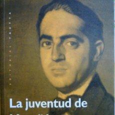 Libros de segunda mano: LA JUVENTUD DE MARAÑON - FRANCISCO PEREZ GUTIERREZ. Lote 146368970