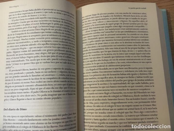 Libros de segunda mano: DÍEZ-ALEGRÍA. UN JESUITA SIN PAPELES. MIGUEL LAMET, PEDRO. - Foto 2 - 146379770
