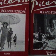 Livres d'occasion: PICASSO . ROLAND PENROSE, 2 VOLUMENES ( SALVAT ) .. Lote 146442586
