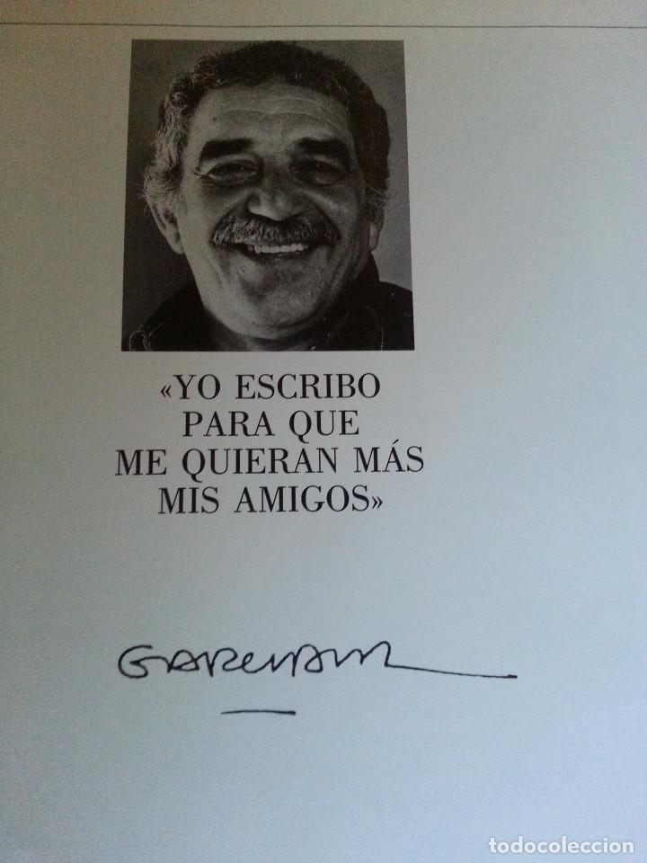 Libros de segunda mano: RETRATO DE GABRIEL GARCÍA MÁRQUEZ - JUAN LUIS CEBRIÁN (CÍRCULO DE LECTORES, 1989) - Foto 4 - 146684522