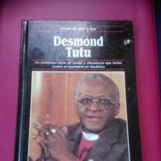 Libros de segunda mano: DESMOND TUTU. GENTE DE AYER Y HOY. EDICIONES SM 1990. DAVID WINNER.. Lote 146721190