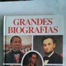 Libros de segunda mano: GRANDES BIOGRAFÍAS. Lote 146807746