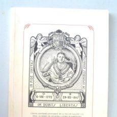 Libros de segunda mano: HOMENATGE FÈLIX TORRES AMAT 1772-1847 UN BISBE REFORMADOR 1998 SALLENT. Lote 147051562