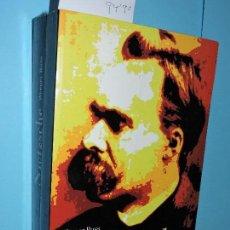 Libros de segunda mano: FRIEDRICH NIETZSCHE. EL ÁGUILA ANGUSTIADA. ROSS, WERNER. COL. TESTIMONIOS. ED. PAIDÓS.BARCELONA 1994. Lote 156451737