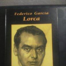 Libros de segunda mano: GRANDES BIOGRAFÍAS FEDERICO GARCÍA LORCA, EDITORIAL RUEDA. Lote 147514178
