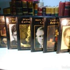 Libros de segunda mano: INTERESANTE LOTE DE 6 BIOGRAFÍAS DE PERSONAJES ILUSTRES - COLECCIÓN GRANDES BIOGRAFÍAS -. Lote 147902066